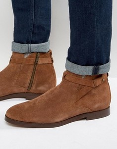 Замшевые ботинки Hudson London Cutler Jodphur - Рыжий