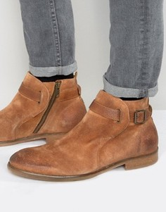 Замшевые ботинки Hudson London Hank Jodphur - Рыжий