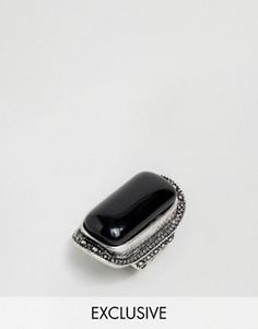 Броское кольцо с камнем DesignB London - Золотой