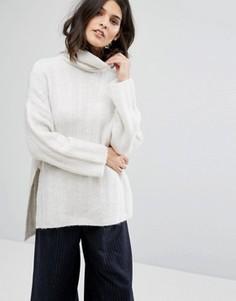 Oversize-джемпер Selected Femme - Белый