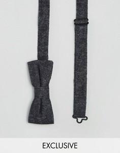 Черный галстук-бабочка Reclaimed Vintage - Черный