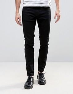 Черные супероблегающие джинсы с заниженной талией Rollas Stinger - Черный Rollas