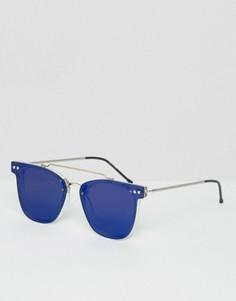 Круглые солнцезащитные очки Spitfire - Синий