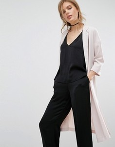 Приталенный пиджак с рукавами 3/4 Vero Moda - Фиолетовый