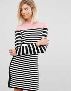 Трикотажное полосатое платье Sonia By Sonia Rykiel - Мульти