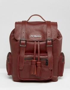 Свободный кожаный рюкзак Dr Martens - Коричневый