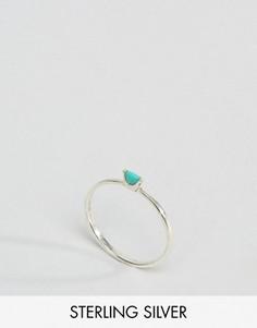 Серебряное кольцо с бирюзой Kingsley Ryan - Серебряный