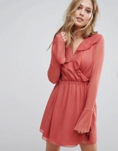 Платье мини The Jetset Diaries Aurea - Розовый