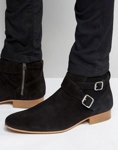 Замшевые ботинки House Of Hounds Jodphur - Черный