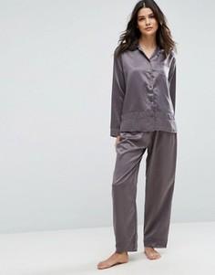 Пижама Bluebella Sophie Premium - Серый