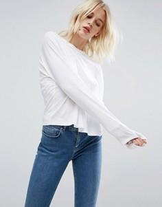 Свободная футболка ASOS - Белый