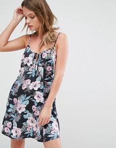 Платье-комбинация с цветочным принтом Minkpink Sweet Sundays - Мульти