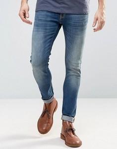 Темно-синие джинсы скинни Nudie Jeans Co Lin - Темно-синий