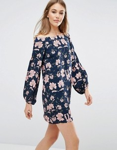 Платье с цветочным принтом пейсли Keepsake - Мульти