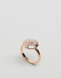 Кольцо с отделкой в виде пуговицы Ted Baker Esterr - Золотой