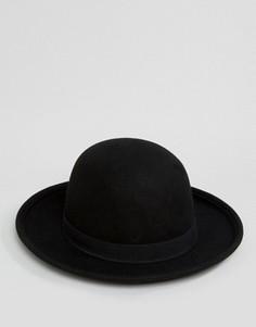 Мягкая фетровая шляпа ASOS - Черный