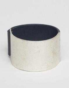 Браслет-манжета с магнитной застежкой ASOS - Серебряный