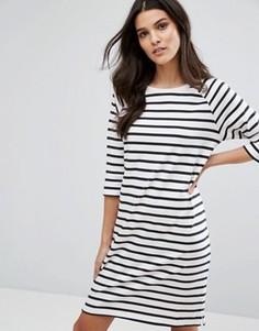 Платье в полоску Selected Femme - Мульти