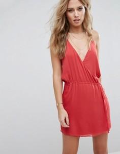 Платье мини The Jetset Diaries Shale - Красный