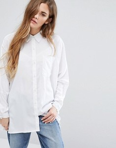 Oversize-рубашка Daisy Street - Белый