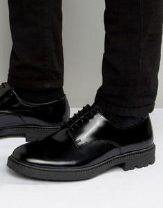 Кожаные туфли дерби Religion - Черный
