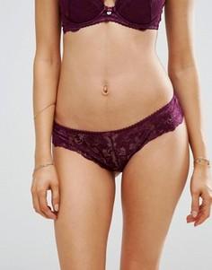 Кружевные трусики Gossard - Фиолетовый