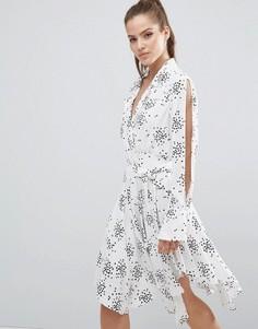 Платье C/meo Collective Caught Up - Белый