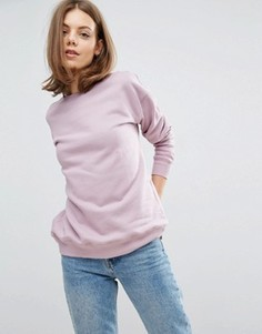 Свободный свитшот ASOS - Фиолетовый