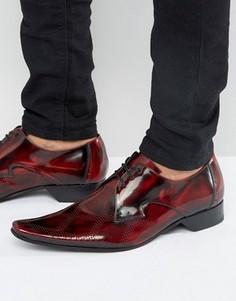 Туфли дерби Jeffery West Pino - Красный