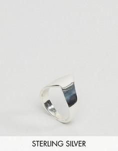 Серебряное кольцо в виде шеврона Regal Rose Farrah - Серебряный