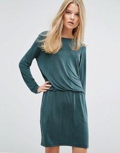 Платье Samsoe & Samsoe Malia - Зеленый