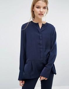 Рубашка без воротника Samsoe & Samsoe - Черный