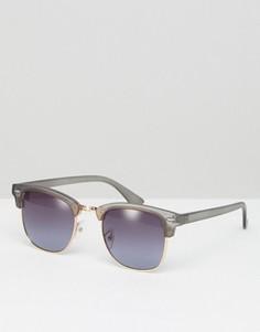 Солнцезащитные очки в стиле ретро Jeepers Peepers - Серый