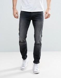 Рваные джинсы скинни Burton Menswear - Серый
