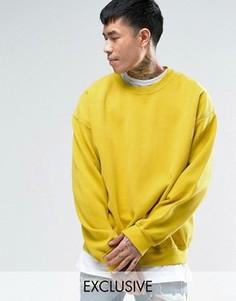 Желтый оversize-свитшот Reclaimed Vintage - Желтый