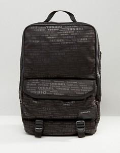 Рюкзак с принтом Diesel - Зеленый