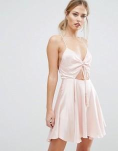 Платье мини Finders Fernando - Розовый
