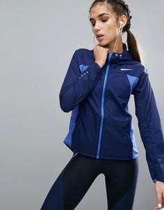Синяя ветровка Nike - Синий