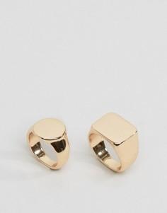 2 кольца Monki - Золотой