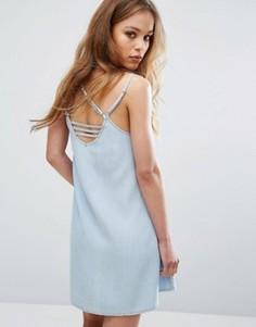 Платье на тонких бретельках RVCA - Синий