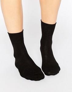 Черные носки Falke - Темно-синий