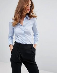 Классическая рубашка Sisley - Синий