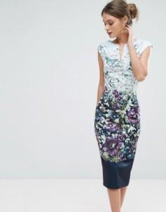 Платье миди Ted Baker Tiha - Синий