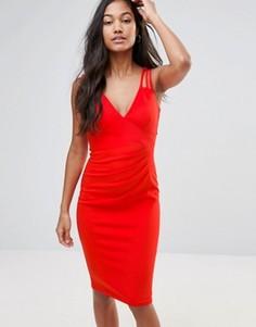 Платье-футляр длины миди Jessica Wright - Красный