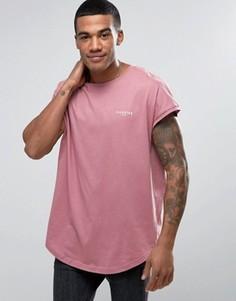 Розовая футболка Illusive London - Розовый