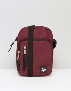 Бордовая сумка для авиапутешествий Hype - Красный