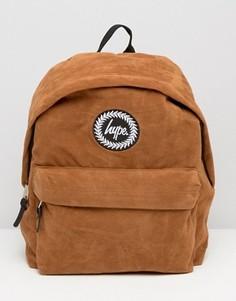 Замшевый рюкзак Hype - Коричневый