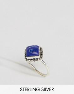Серебряное кольцо с лазуритом Rock N Rose - Серебряный