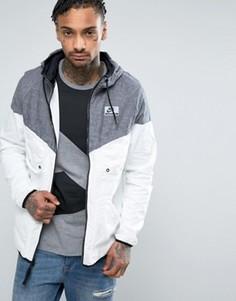 Белая ветровка Nike International 831130-011 - Черный