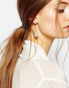 Серьги-подвески с камнями ALDO Cares - Золотой